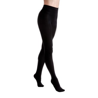 pančucháče LEGWEAR - Fashion velvet fleece lined - Black, LEGWEAR