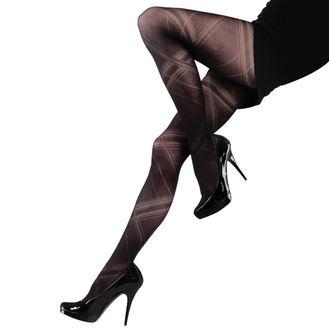 pančucháče LEGWEAR - Criss cross - Black, LEGWEAR